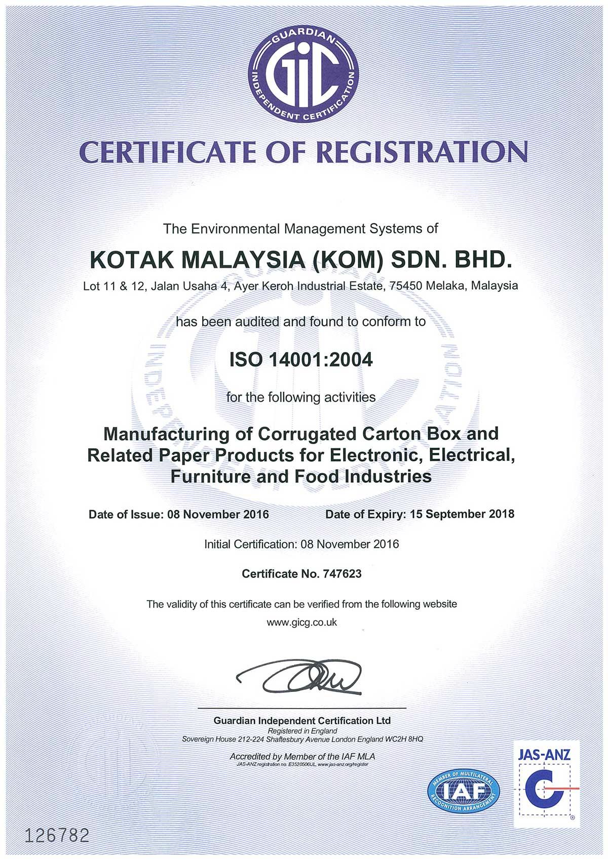 ISO-14001-2004-Cert-KOTAK