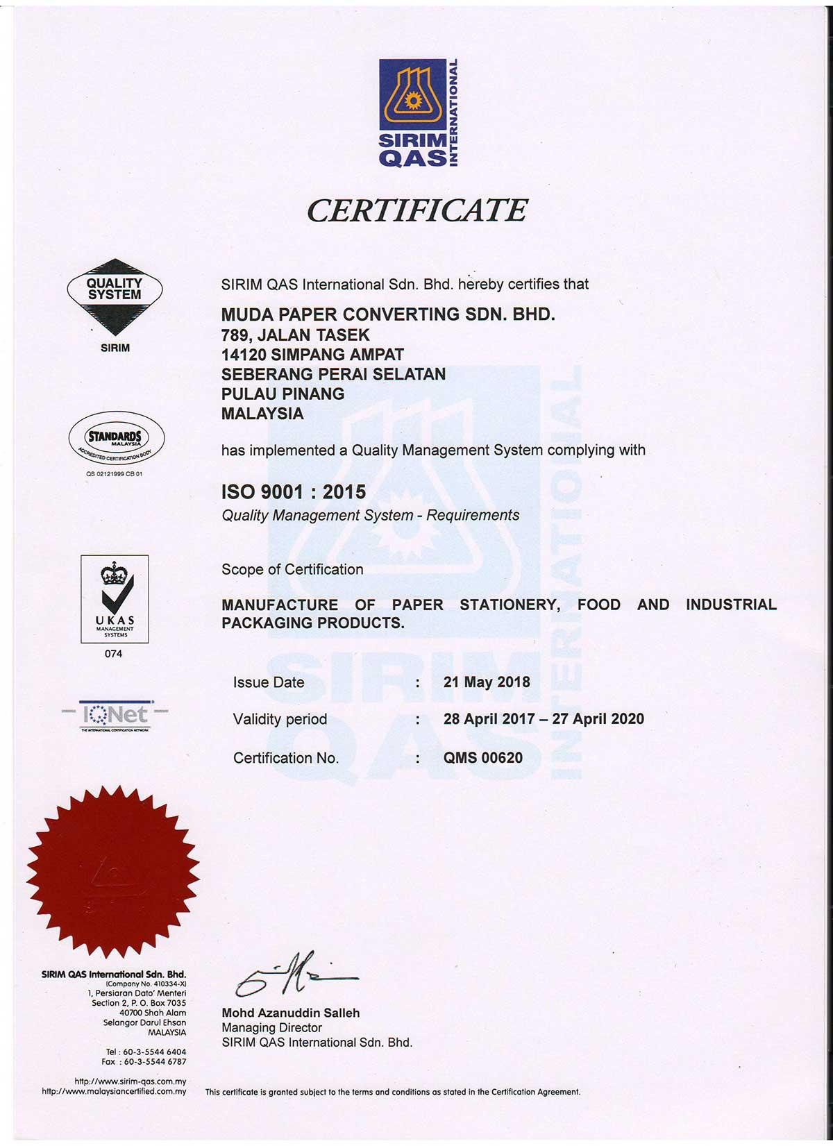 ISO9001-2015-Muda-Paper-Converting