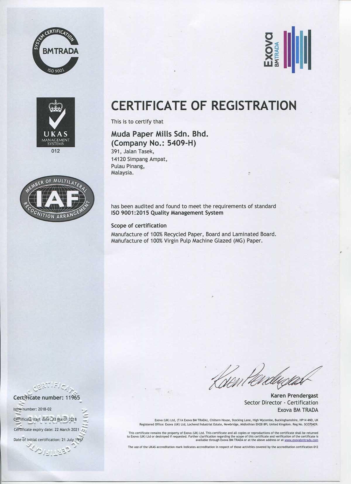 ISO9001-2015-Tasek